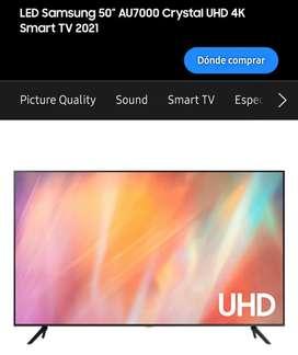 Vendo Samsung Smart TV AU7000 UHD 4K de 50 NUEVO