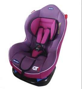 Asiento de auto para bebe reclinable
