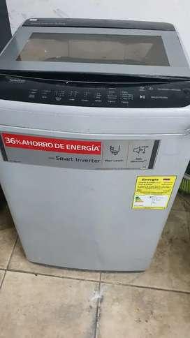 Vendo lavadora lg inverter de 20 libras