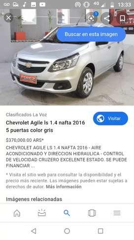 Repuestos Chevrolet agile 2016