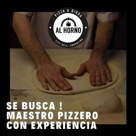 maestro pizzero experiencia en horno de barro
