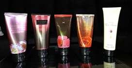 Mini Cremas Humectantes-Victoria Secret y Avon
