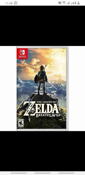 Legend of Zelda botw como nuevo