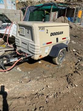 compresor portatil DOOSAN P185WJD 2014