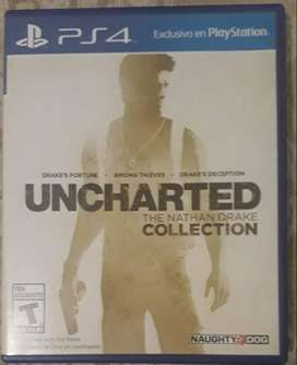 Uncharted The Nathan Drake PS 4 fisico