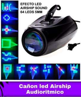 Cañon Led Airship