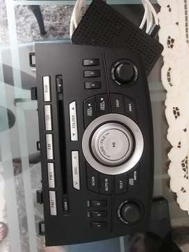 Radio original de mazda 3 all new 2012