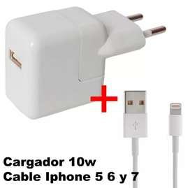 Cargador iPhone 10w ( leer)