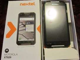 celular nextel iron rock xt626 dual sim 3g libre ultima version 4.04