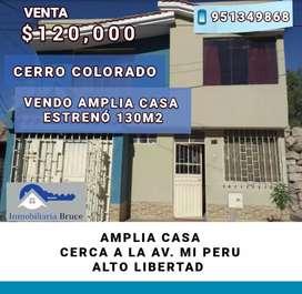 CERRO COLORADO VENDO CASA AMPLIA 130M2