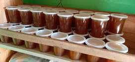 Miel de abejas 100% pura. De la pampa.