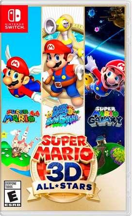 Super Mario 3d Nintendo Switch NUEVO