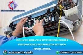 Mantenimiento de equipos de aire acondicionado, industrial y comercial