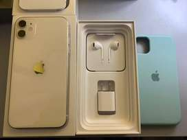 iPhone 11, Blanco 64GB en caja