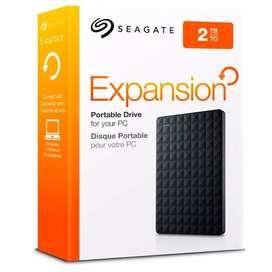 Disco Duro Externo Seagate 2 Tb EXPANSION 3.0 *LOCAL NVA CBA*