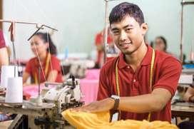 Se busca costurero, con experiencia en remalle y recubridora