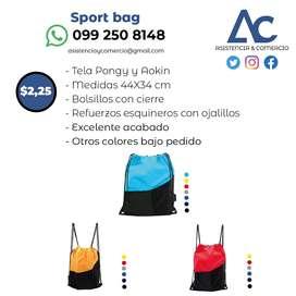 Sport bag - Bolso deportivo