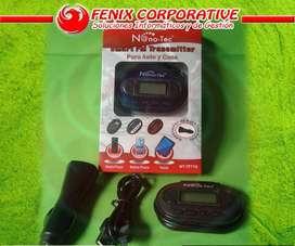 Transmisor Radio Fm Universal Stereo Plu 3.5