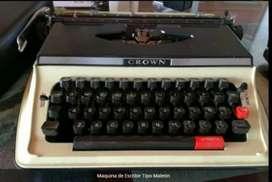 Maquina de Escribir Tipo Maletin