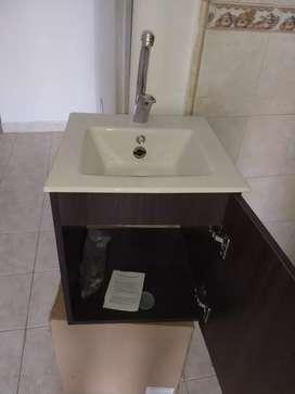 Cajón y lavamanos