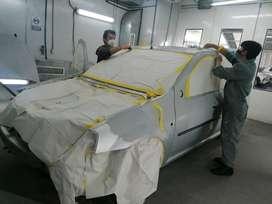 Pintor y Preparador de Pintura Automotriz