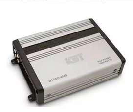 Amplificador Mini Planta Kbt D1000-4md 4 Ch Clase D 75w X 4  Nueva garantía Scp1