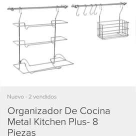 Organizador de cocina kitchen plus 8 piezas