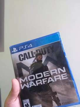Call of Duty Modern Warfare PS4 Nuevo