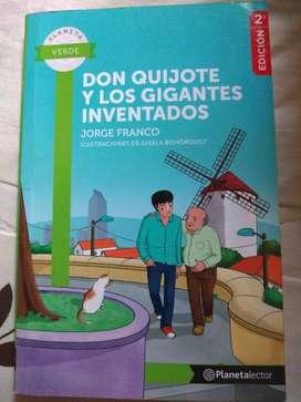 Don Quijote y los Gigantes Inventados