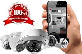 Kit Camaras de Seguridad HD-INCLUYE INSTALACION