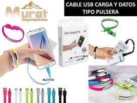 CABLE USB TIPO PULSERA