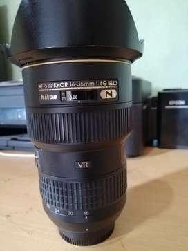 Nikon lentes