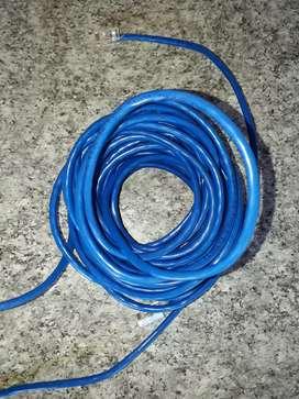 Cable de 12 mts para internet para CPU o notebook