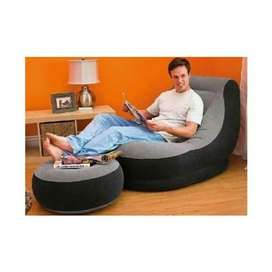 SILLON INFLABLE CON PUFF