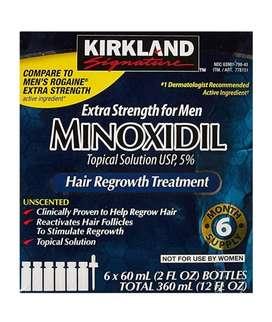 Kit de Minoxidil (cabello O Barba)