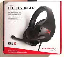 DIADEMA GAMER HyperX Cloud Stinger | PC/PS4/XBOX ONE/SWITCH/CELULAR