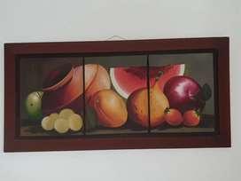 Lundo bodegon frutas