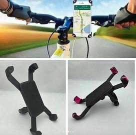 Soporte Holder moto Porta Celular Sujetador Para Bicicleta y Moto