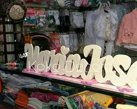 Letreros para baby shower