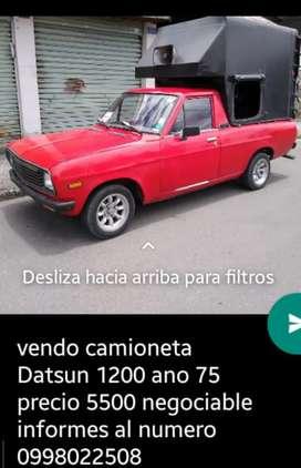 En venta una Datsun 1200