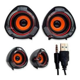 Parlante computador a7 cable usb pc alambrico negA&C TEGNOLOGY BOGOTA D.Cr