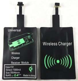 Adaptador Carga Inalambrica Qi Micro Usb Android