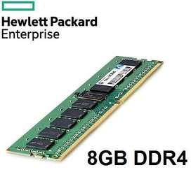 MEMORIA RAM HP 819880/B21 DDR4 8GB 1RX8 PC4-17000/2133MHZ UNBUFFERED ECC