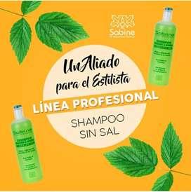 Sabine Productos 100% naturales para el cuidado del cabello