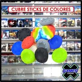 CUBRES STICK JOYSTICK PS4 DE COLORES