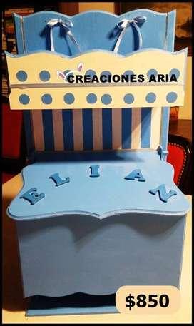 PAÑALERA ORGANIZADOR PERSONALIZADO @creacionesaria