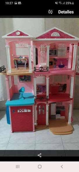 Mansion de la barbie  convertible