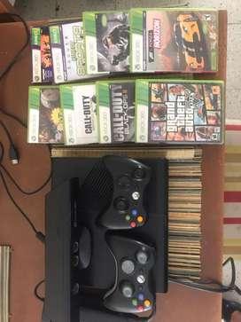 Xbox 360 con kinnet