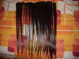 Exención de cabello 100% natural