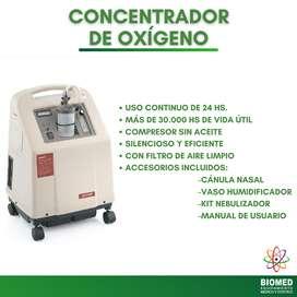 CONCENTRADOR DE OXIGENO - 5 LITROS